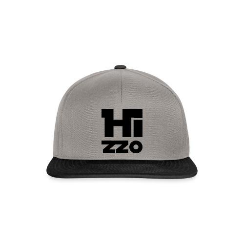 SnapBack Cap grey HIZZO black - Snapback Cap