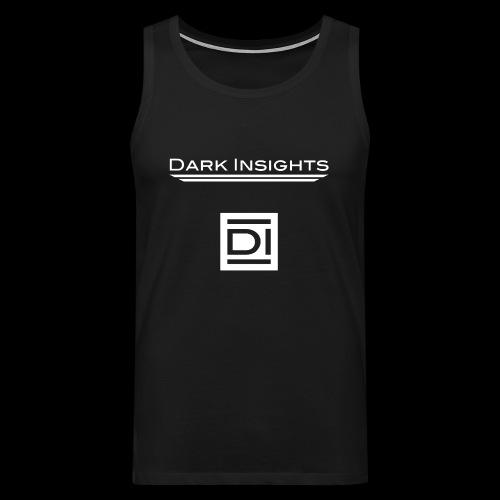 Men Muscle Shirt: Dark Insights - Men's Premium Tank Top