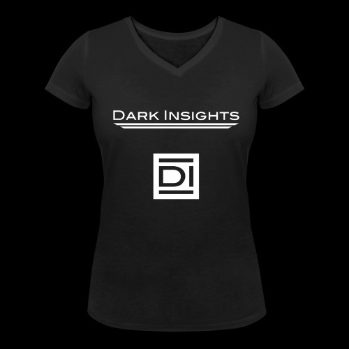 Woman V-Shirt: Dark Insights - Women's Organic V-Neck T-Shirt by Stanley & Stella