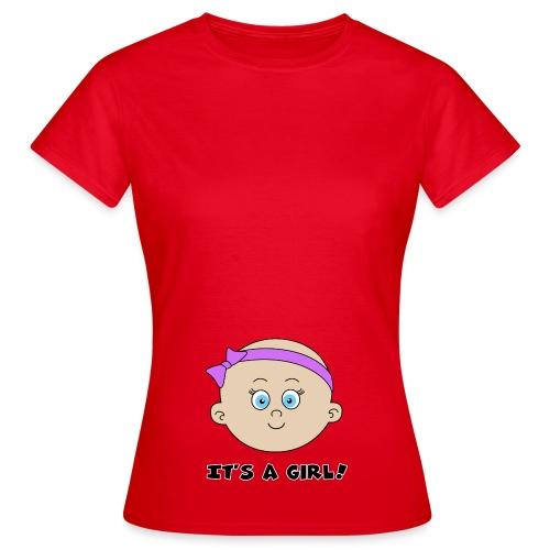 it's a girl - T-shirt Femme