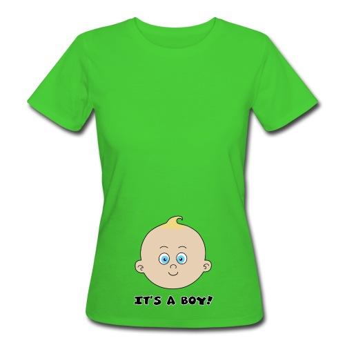it's a boy - T-shirt bio Femme