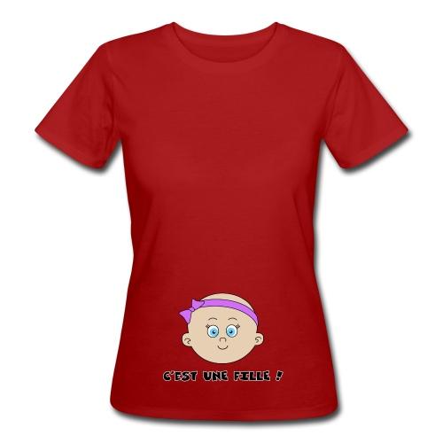 C'est une Fille - T-shirt bio Femme