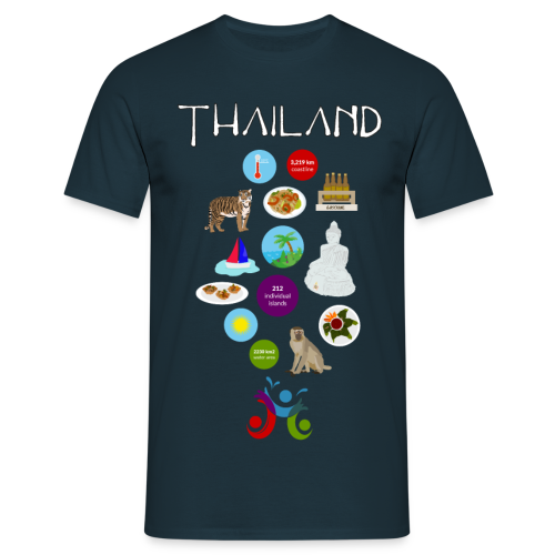 Thailand - Men's T-Shirt