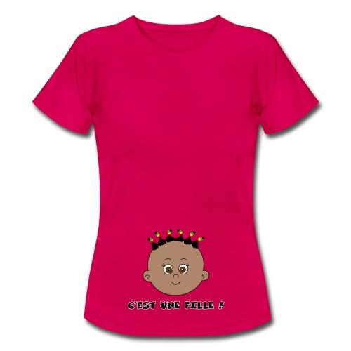 C'est une fille noire - T-shirt Femme