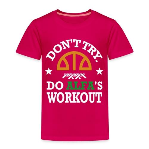 T-SHIRT Workout ENFANT - T-shirt Premium Enfant