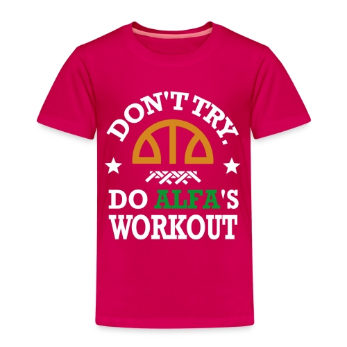 T-SHIRT Workout ENFANT - T-shirt Premium Enfant