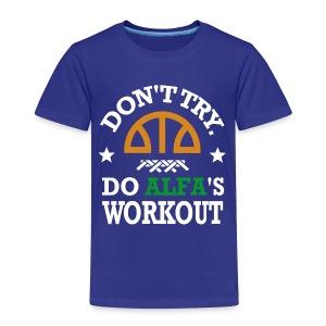 T-SHIRT Personnalisable Workout ENFANT - T-shirt Premium Enfant