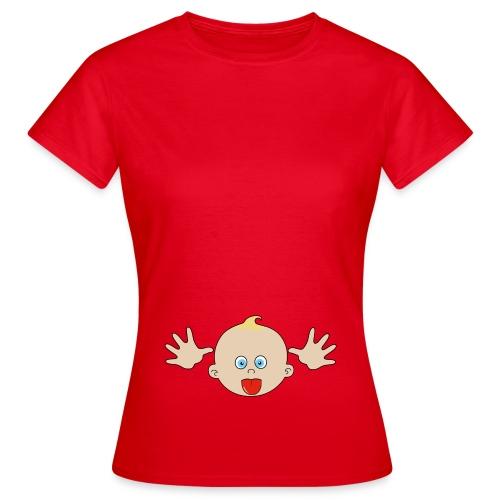 bébé grimace - T-shirt Femme