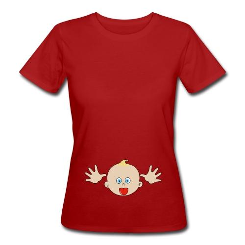 bébé grimace - T-shirt bio Femme