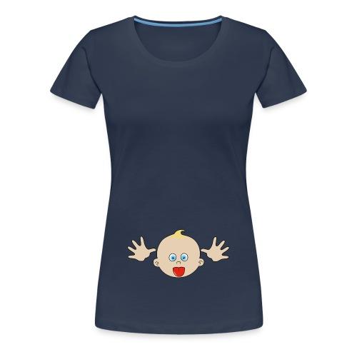 bébé grimace - T-shirt Premium Femme