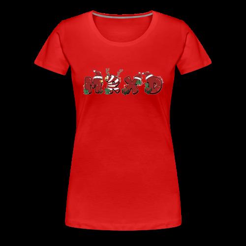 Maglia MrXD Natale (Donna) - Maglietta Premium da donna