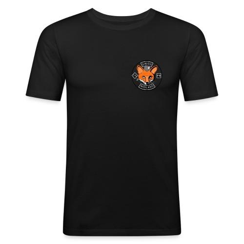 Lone Wolf - Männer Slim Fit T-Shirt