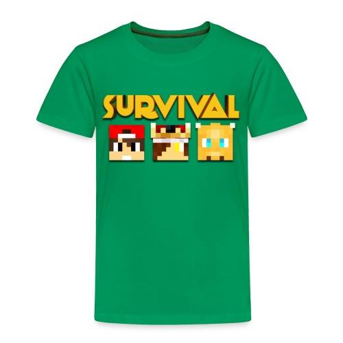 Minecraft Survival Shirt - Kinderen Premium T-shirt