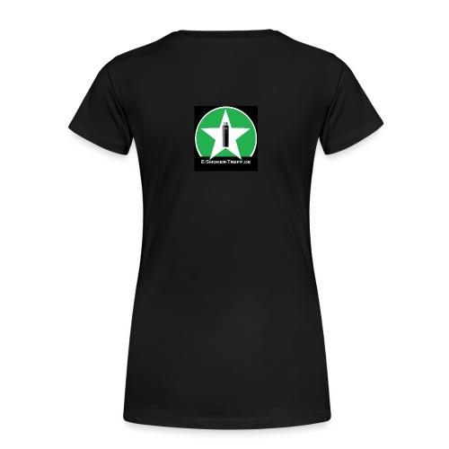 T-Shirt E-Smoker-Treff - Frauen Premium T-Shirt