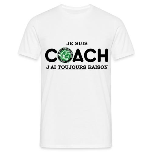 T-SHIRT Personnalisable Je suis Coach HOMME - T-shirt Homme