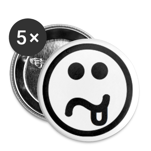 Smiley GS Button - Buttons middel 32 mm