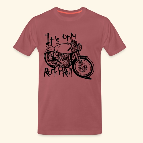 Only Rock'n'Roll - T-shirt Premium Homme