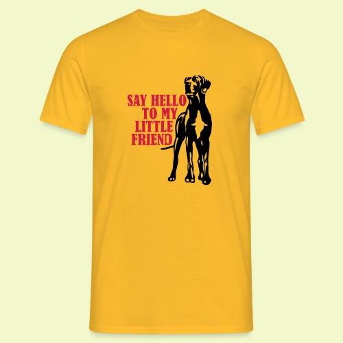 Hallo mein Kleiner! - Männer T-Shirt