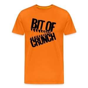 Bit Of Crunch (Black) - Men's Premium T-Shirt