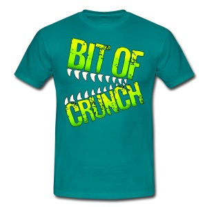 Bit Of Crunch (Green) - Men's T-Shirt