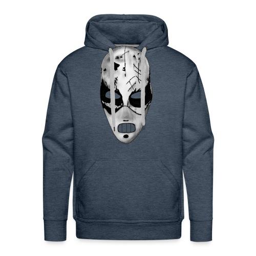 Masken Hoody blau - Männer Premium Hoodie