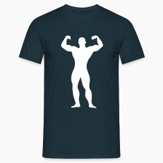 flexing man Tee shirts