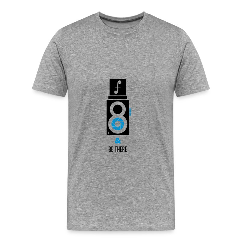 F8 & Be There  - Men's Premium T-Shirt