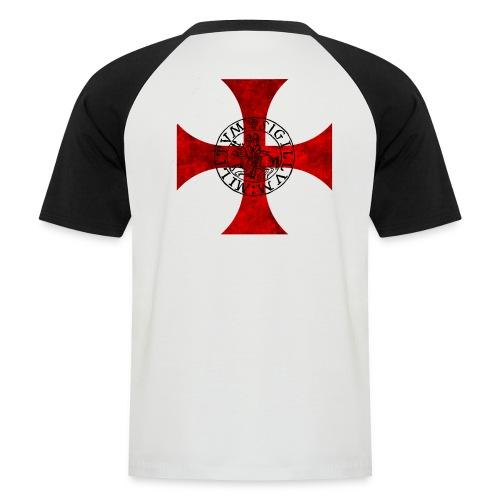 Tee Shirt Bicolore Templier - T-shirt baseball manches courtes Homme