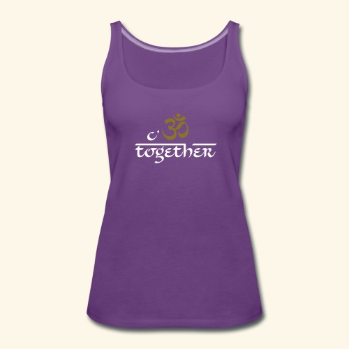 cOM together Girls - Frauen Premium Tank Top
