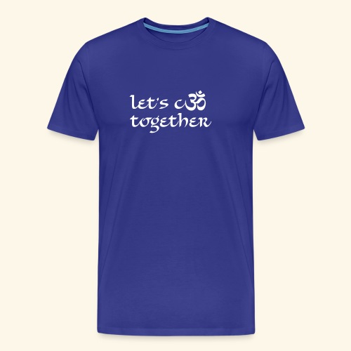 cOM together Boys - Männer Premium T-Shirt