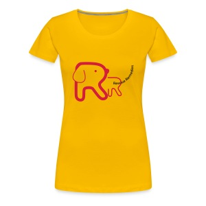 Rescue Remedies women's premium t-shirt (sun yellow) - Women's Premium T-Shirt