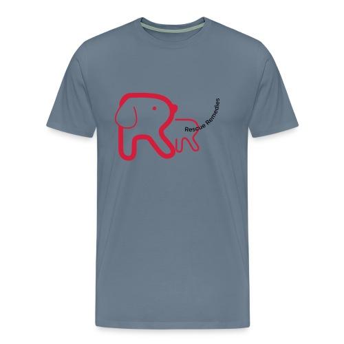 Rescue Remedies men's premium t-shirt (steel blue) - Men's Premium T-Shirt