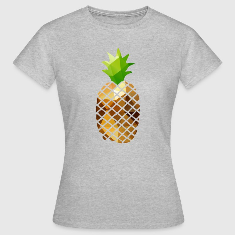 Pineapple (Low Poly) Tee shirts - T-shirt Femme