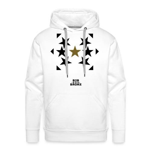 B2B Broke - Hoodie Stars 1 - Männer Premium Hoodie