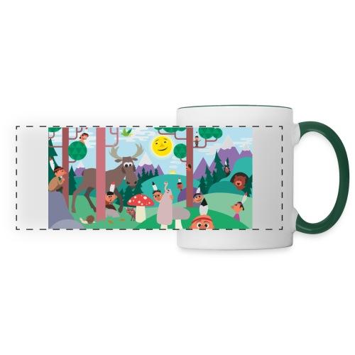 Hide and Seek - Panoramic Mug