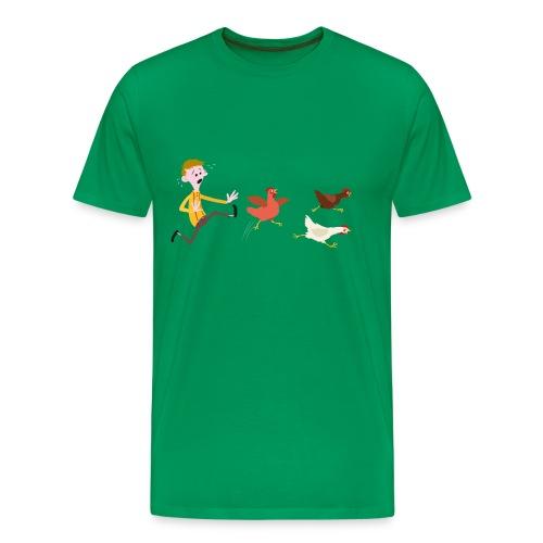 Chicken Run - Men's Premium T-Shirt
