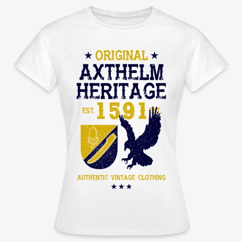 Axthelm Retro Design - Frauen Shirt - Frauen T-Shirt