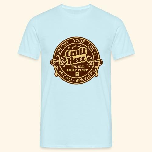 Craft Beer, bicolor - Männer T-Shirt