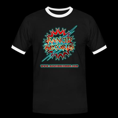 Rancid Records DJ Spyral T-Shirt - Men's Ringer Shirt