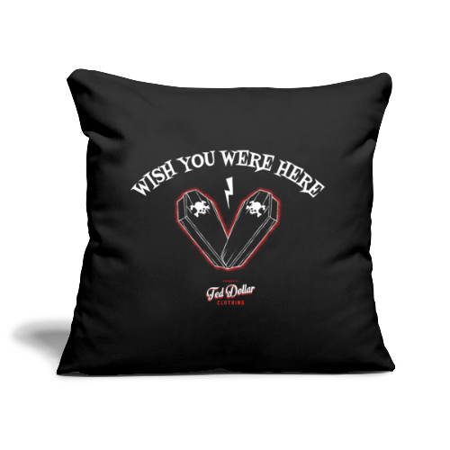 Wish you were here - Housse de coussin décorative 45 x 45 cm