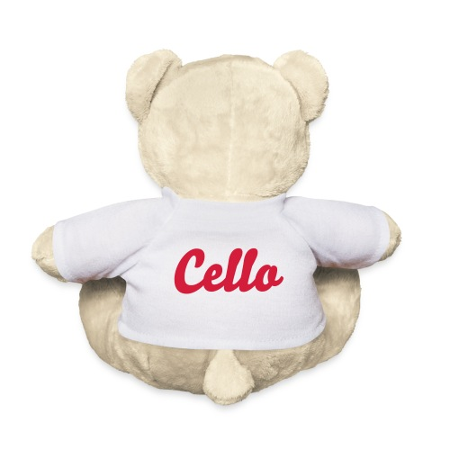 Cello Teddybär - Teddy
