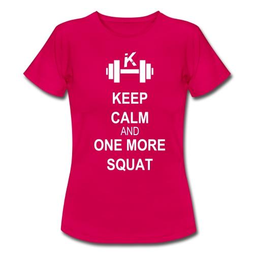 KeepCalm - KURSH  - T-shirt Femme