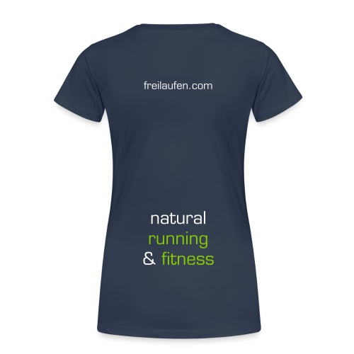freilaufen Shirt Women Typ natural Logo - Frauen Premium T-Shirt