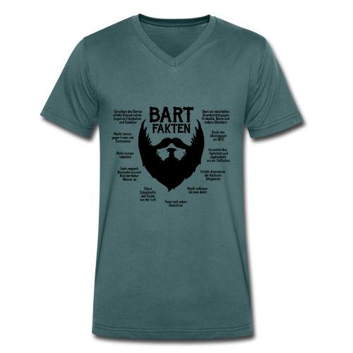 Bart - Männer V-Neck Shirt - Männer Bio-T-Shirt mit V-Ausschnitt von Stanley & Stella