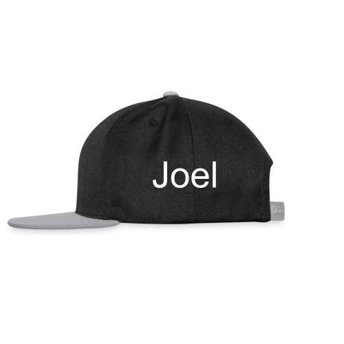 Base ball cap with your name on it  - Snapback Cap