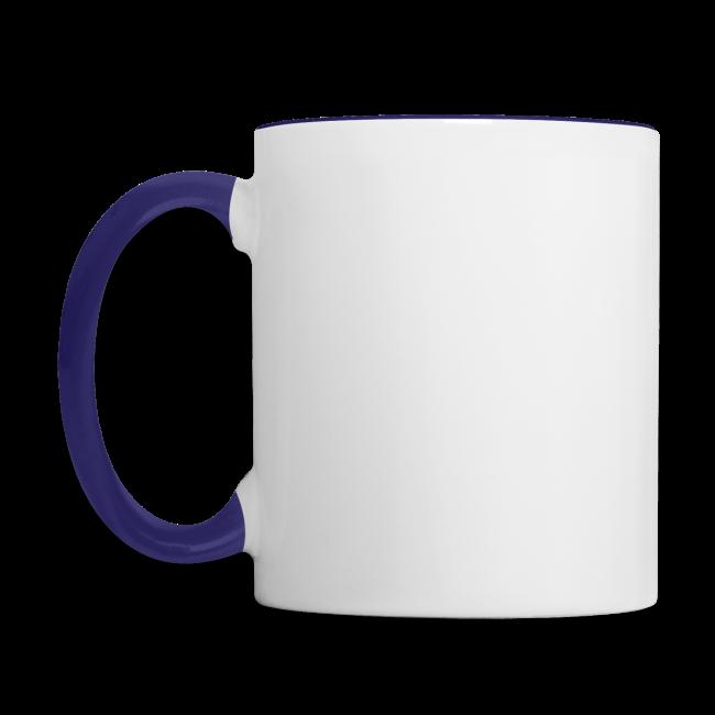 Tasse / zweifarbig