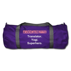 Avocadette Yoga Bag / Sportsbag - Duffel Bag