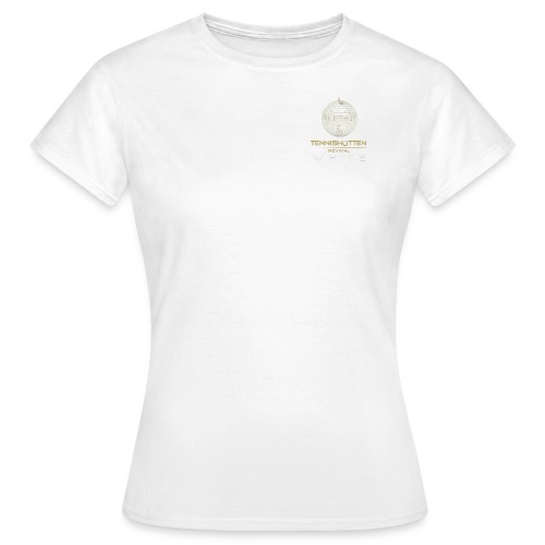 Tennishütten Revival White - Frauen T-Shirt