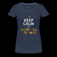Tee shirts ~ T-shirt Premium Femme ~ Mange tes légumes