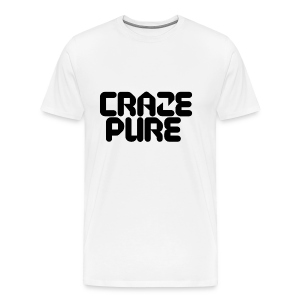 Craze Pure - Black Edition - Men's Premium T-Shirt